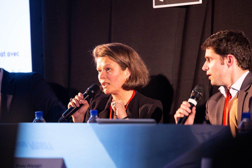 Mazars_Collignon Sylvie & Sayers David_conférence fiscalité_Festival de géopolitique grenoble 2019