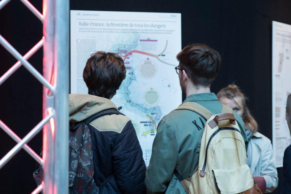 Le monde_festival de geopolitique grenoble 2019_ exposition carte