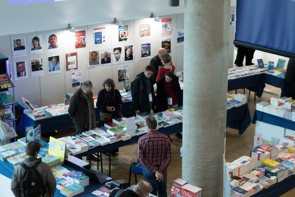 Festival de géopolitique grenoble 2019_Armand colin_Decitre_Stand librairie